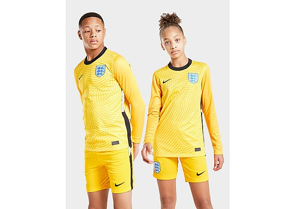 Nike camiseta de portero selección de Inglaterra 2020 1.ª equipación júnior, Yellow