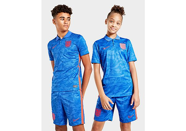 Nike camiseta Inglaterra 2020 2.ª equipación júnior, Blue/Red