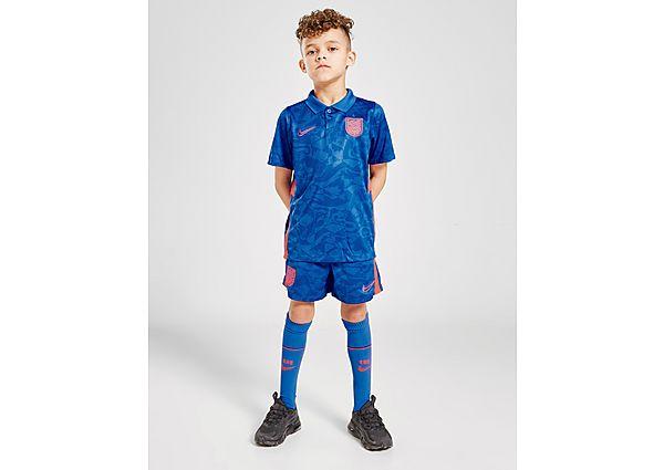 Nike conjunto Inglaterra 2020 2.ª equipación infantil, Blue/Red