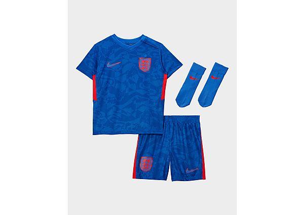 Nike conjunto Inglaterra 2020 2.ª equipación para bebé, Blue/Red