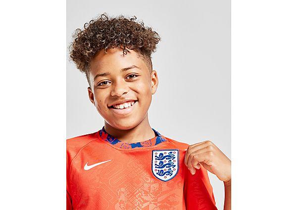 Nike camiseta pre-partido Inglaterra júnior, Red/Blue
