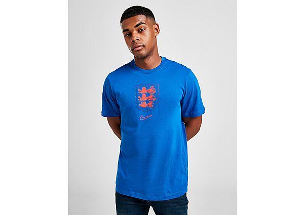 Nike camiseta Inglaterra Crest, Blue