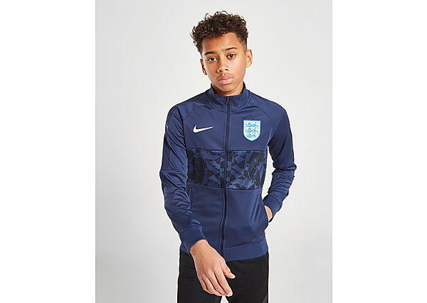 Nike chaqueta Inglaterra I96 Track júnior, Blue