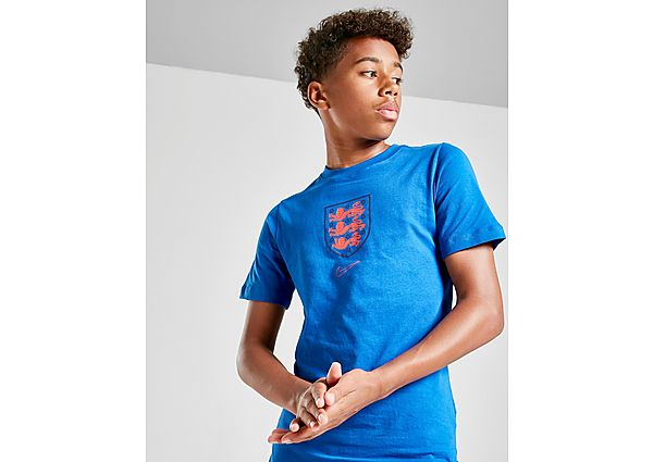 Nike camiseta Inglaterra Crest júnior, Blue