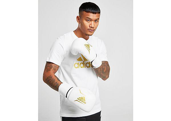 adidas guantes de boxeo Speed 50, Gold/Black
