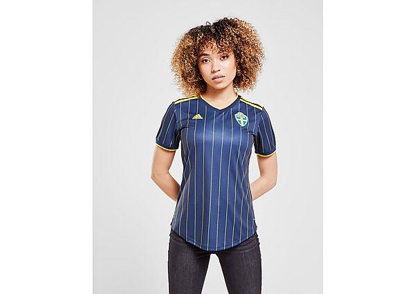 Ropa deportiva Mujer adidas camiseta Suecia 2020/21 2.ª equipación para mujer