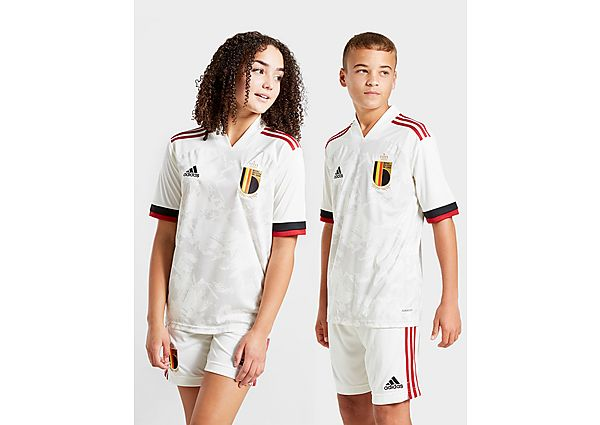 adidas camiseta Bélgica 2020 2.ª equipación júnior, White/Black/Red