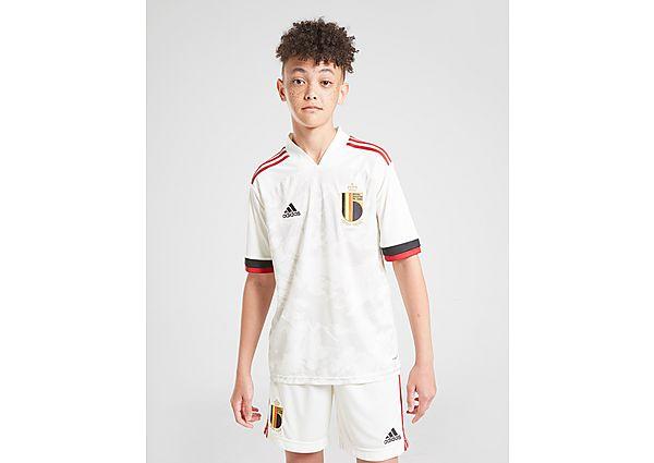 adidas pantalón corto Bélgica 2020 2.ª equipación júnior, White