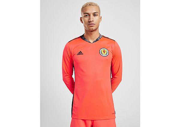 adidas camiseta de portero de la selección de Escocia 2020 2. ª equipación, Orange/Black