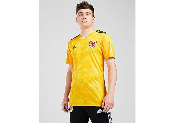 adidas camiseta Wales 2020 2.ª equipación, Yellow