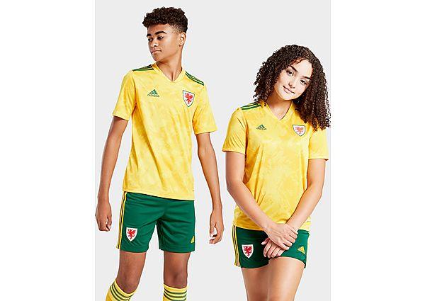 adidas camiseta Wales 2020 2.ª equipación júnior, Yellow