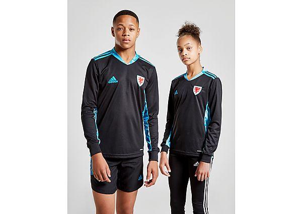 adidas camiseta de portero Wales 2020 2.ª equipación júnior, Black