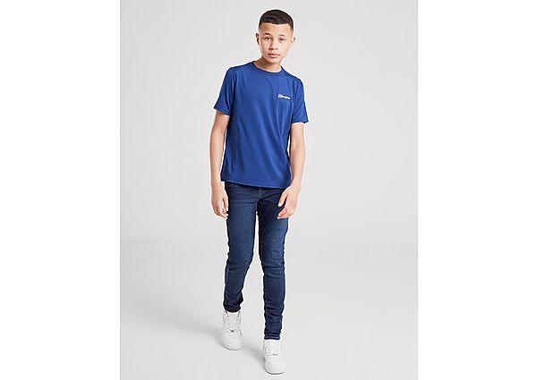 Comprar Ropa deportiva para niños online Berghaus camiseta Poly júnior, Blue