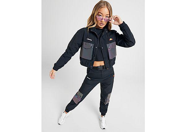 Ropa deportiva Mujer Ellesse pantalón de chándal Woven Belt Pocket, Black