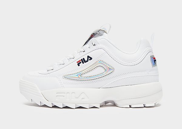 Fila Disruptor II júnior, White