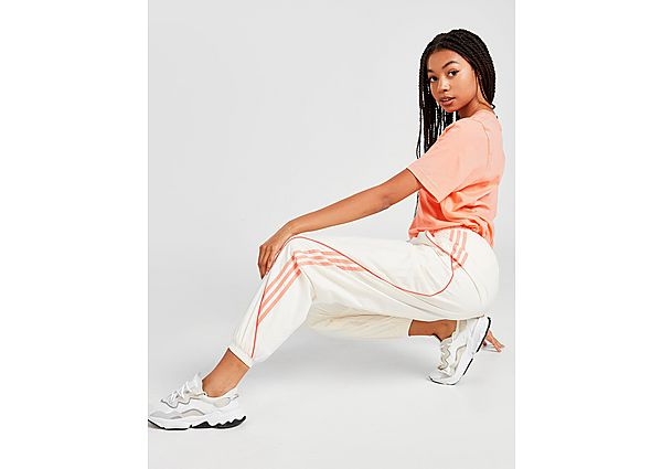 Adidas Originals Woven Track Pants - Chalk White/Pink - Dames