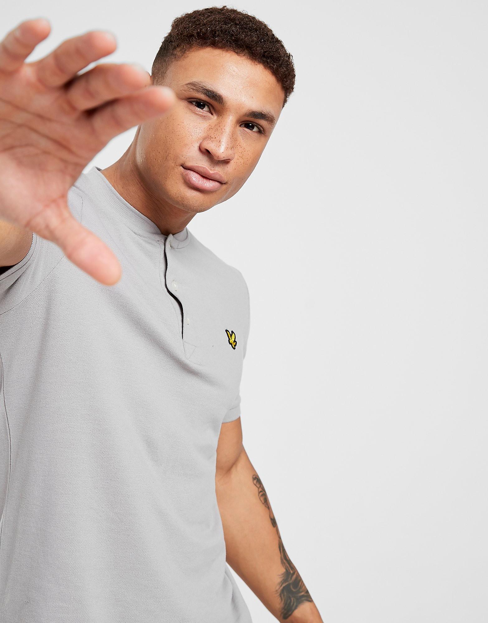 Lyle Scott Bomber Collar Polo Shirt