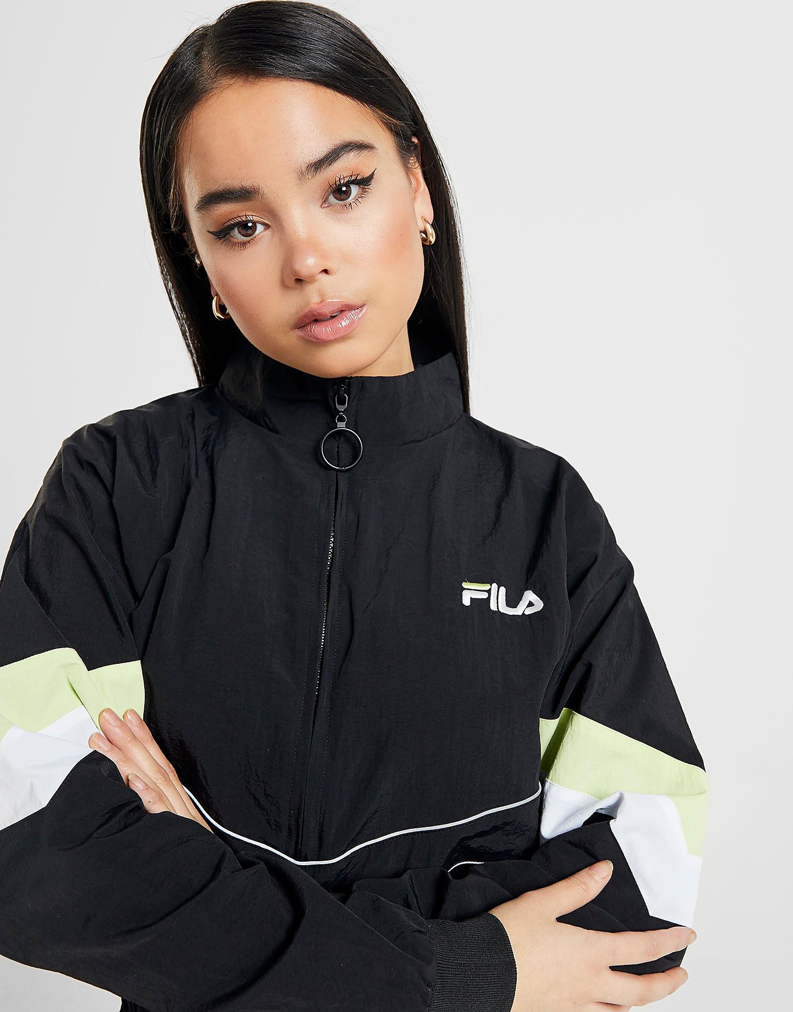 Fila Piping Woven 14 Zip Jacket