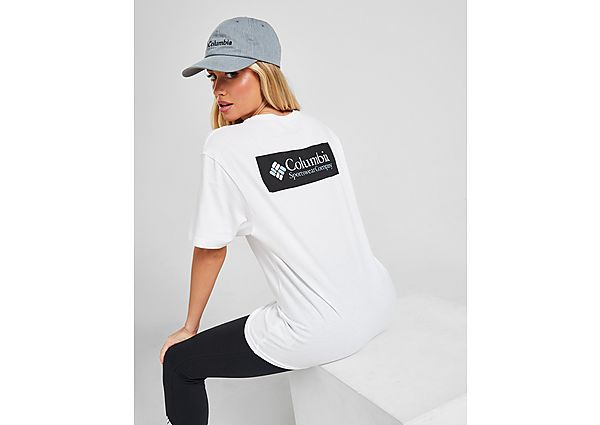 Ropa deportiva Mujer Columbia camiseta Basic Box
