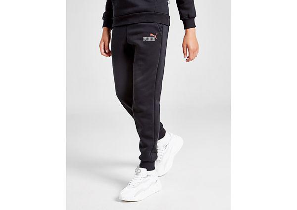 Comprar Ropa deportiva para niños online Puma pantalón Core Logo júnior, Black