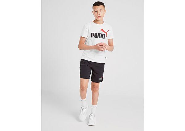 Comprar Ropa deportiva para niños online Puma pantalón corto Core Logo  júnior, Black
