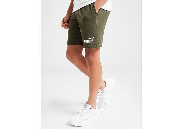 Comprar Ropa deportiva para niños online Puma pantalón corto Core Logo  júnior, Green