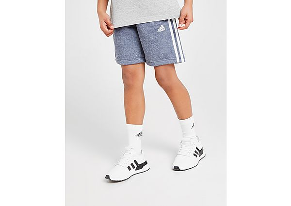Adidas French Terry Poly Shorts Junior - Blue/White - Kind