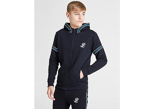 ILLUSIVE LONDON Arm Print Full Zip Hoodie Junior - Black - Kind