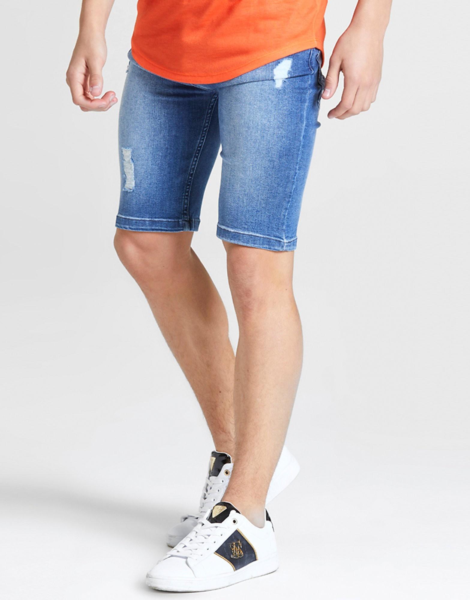 ILLUSIVE LONDON Denim Shorts Junior Blauw Kind Blauw