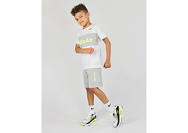 Nike Air T-Shirt/Shorts Set Kinderen - White - Kind