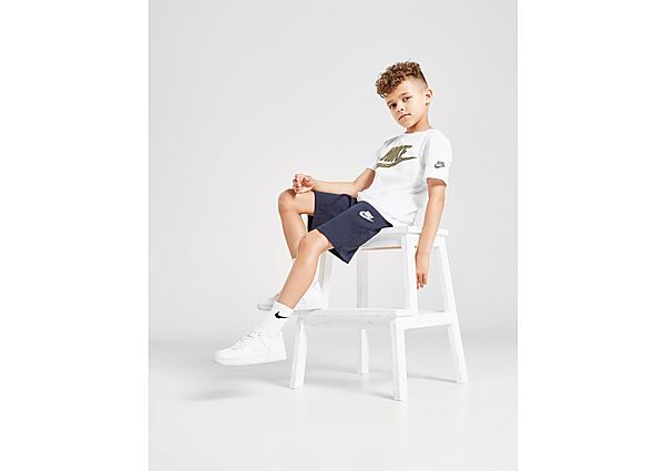 Comprar Ropa deportiva para niños online Nike pantalón corto Club Jersey infantil, Blue