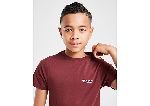 McKenzie Essential T-Shirt Junior - Red - Kind