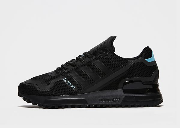 Adidas Originals ZX 750 HD Junior - Core Black / Core Black / Bright Cyan/Blue - Kind