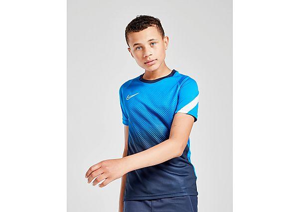 Comprar Ropa deportiva para niños online Nike camiseta Academy Fade júnior, Blue/Black
