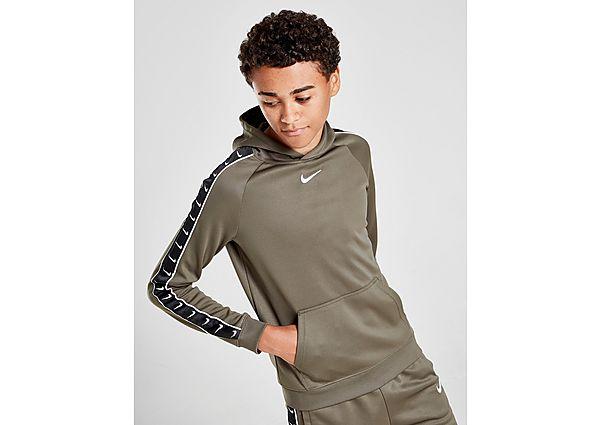 Nike Tape Poly Overhead Hoodie Junior - Green - Kind