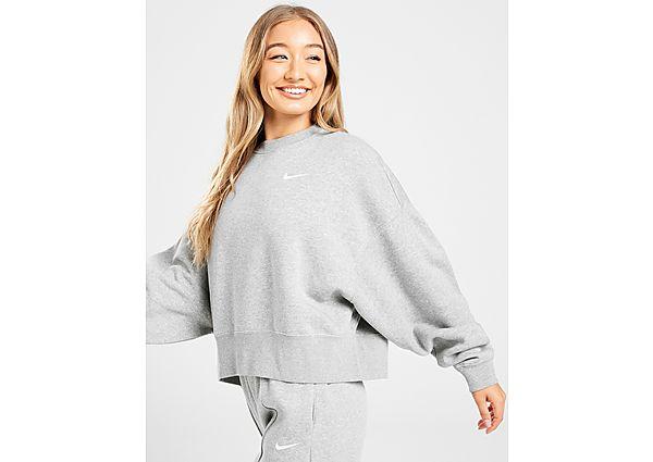 Ropa deportiva Mujer Nike sudadera Trend Fleece Oversized, Grey