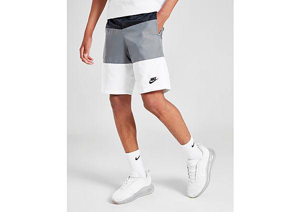 Comprar Ropa deportiva para niños online Nike pantalón corto Colour Block Woven júnior, Black/Grey/White