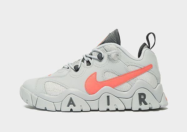 Nike Air Barrage Low júnior, Grey/Red