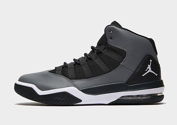 Nike Max Aura Sneakers Heren - Smoke Grey/Dark Smoke Grey/White/White - Heren