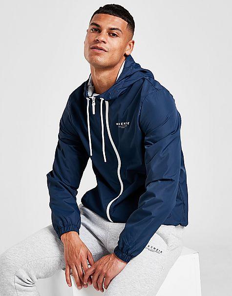 veste coupe-vent zippé essential homme