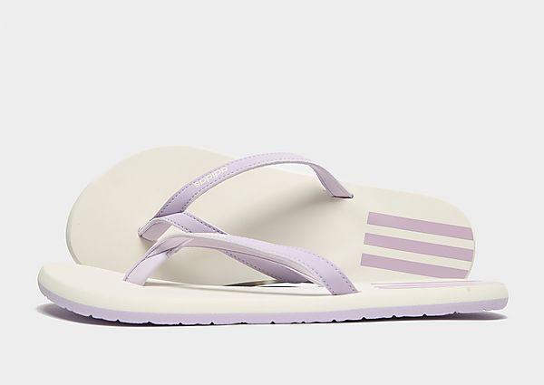 Adidas Eezay Teenslippers Heren - White - Heren