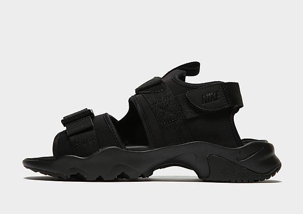 Nike sandalias Canyon para mujer, Black