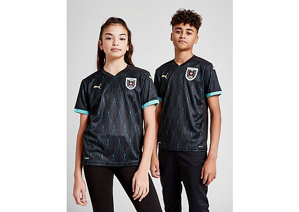 Puma camiseta Austria 2020 2.ª equipación júnior, Black/Blue