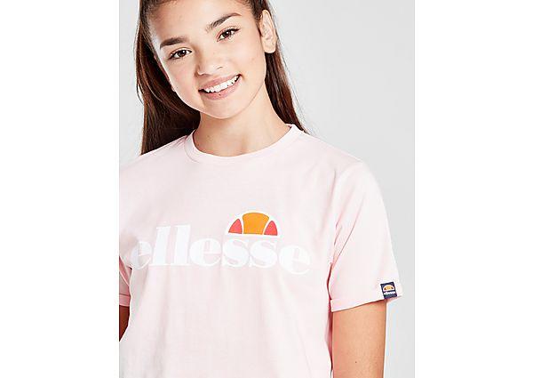 Ellesse Girls' Nicky Crop T-Shirt Junior - Pink - Kind