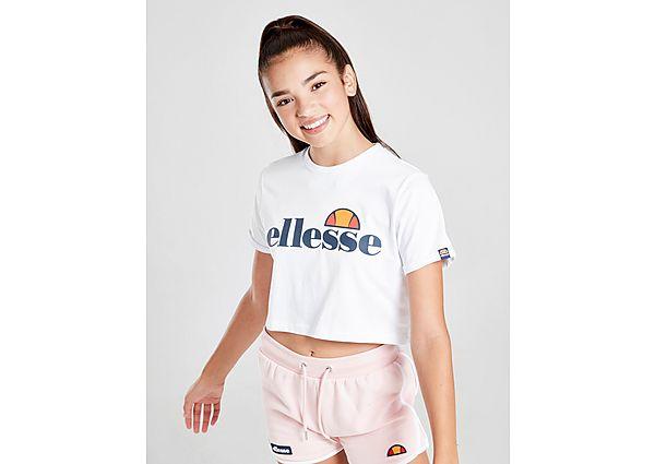 Comprar Ropa deportiva para niños online Ellesse camiseta Crop Nicky júnior, White