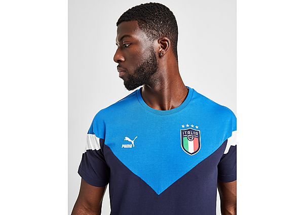 Puma camiseta Italy Icon, Navy