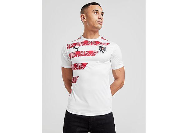 Puma camiseta Austria Stadium, White/Red