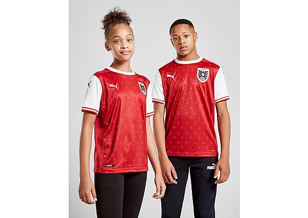 Puma camiseta Austria 2020 1.ª equipación júnior, Red/White