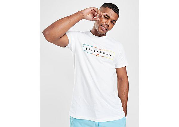 Billabong camiseta Square Fade, White/Multi