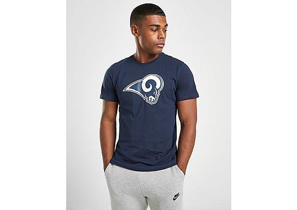 New Era NFL Los Angeles Rams Short Sleeve T Shirt Heren Navy Heren, Navy